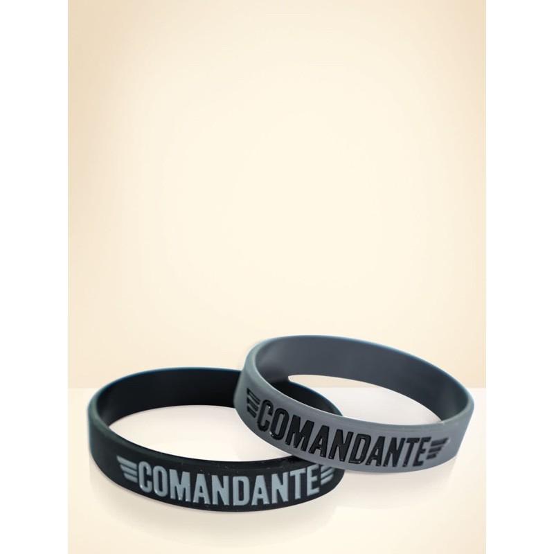 [พร้อมส่ง] Comandante Wristband สีเทา/สีดำ