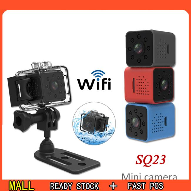 กล้องวีดีโอ sq23 HD WIFI Mini Camera 1080 P Video Sensor Night V