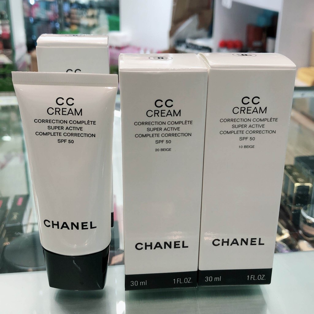 �ล�าร���หารู��า�สำหรั� Chanel CC Cream Super Active Complete Correction SPF 50