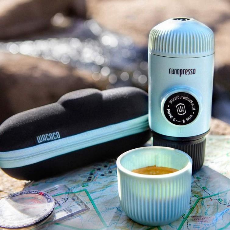 Wacaco Nanopresso Coffee Maker (รุ่นใหม่ 8 สี) เครื่องชงกาแฟพกพา เครื่องทำกาแฟ กาแฟพกพา สำหรับ สายแคมป์ แคมปิ้ง