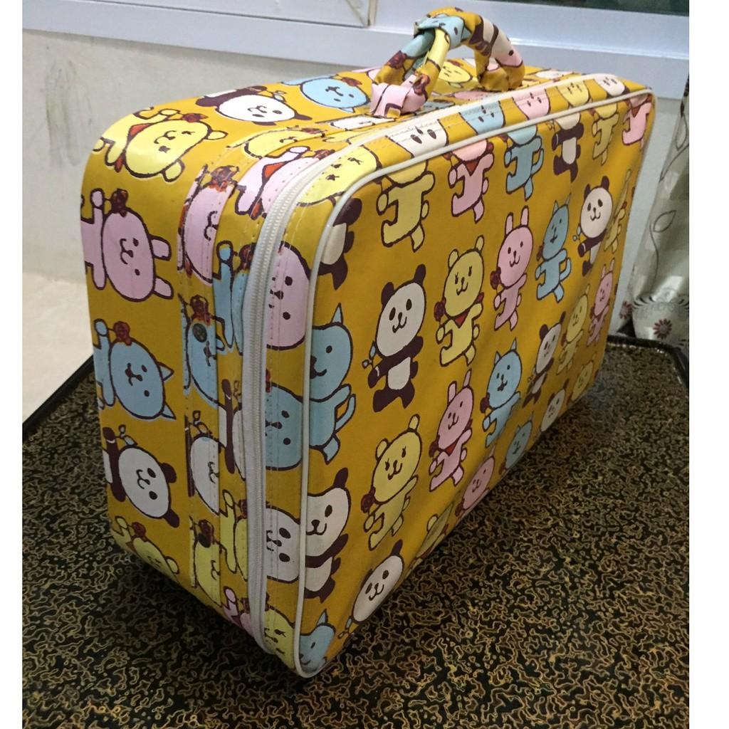 กระเป๋าเดินทางขนาดเล็กกระเป๋าเดินทางใบเล็ก กระเป๋าเดินทางสำหรับเด็ก (มือสองสภาพใหม่สะอาด)