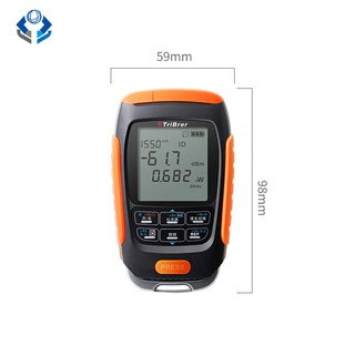 button 4 in 1 lithium battery optical power meter visual fault locator network cable test fiber tester 5km 15km 30km VFL อะแดปเตอร์
