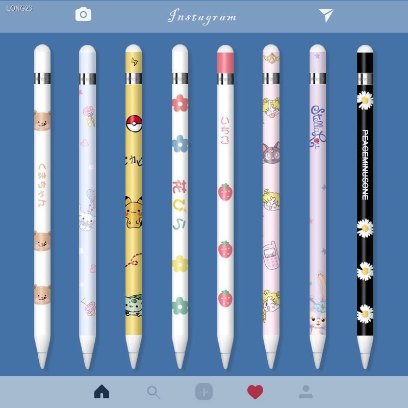 ปากกาไอแพด [วางมือบนจอได้] ปากกาไอแพด วางมือแบบ Apple Pencil stylus ipad ☒✢> applepencil sticker Apple pencil film ipad