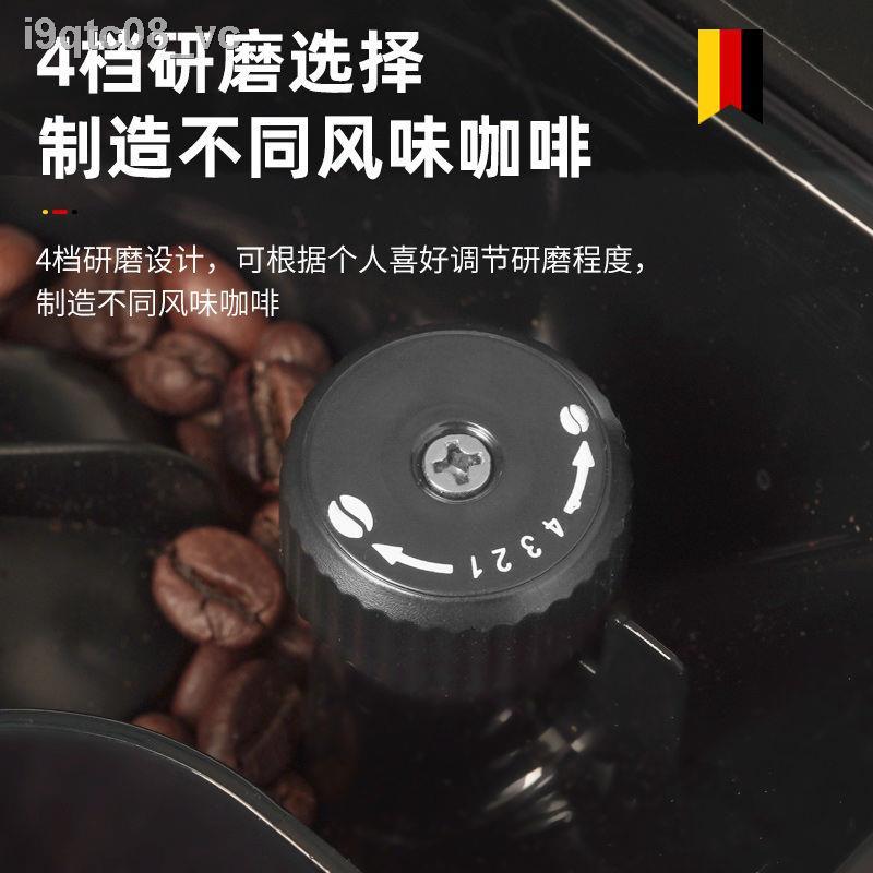 ✶△เครื่องชงกาแฟอัตโนมัติ Derlla เยอรมนีบดขนาดเล็กที่บ้าน เครื่องทำฟองนมแบบบูรณาการในเชิงพาณิชย์ของอิตาลี เครื่องบดเข้มข้