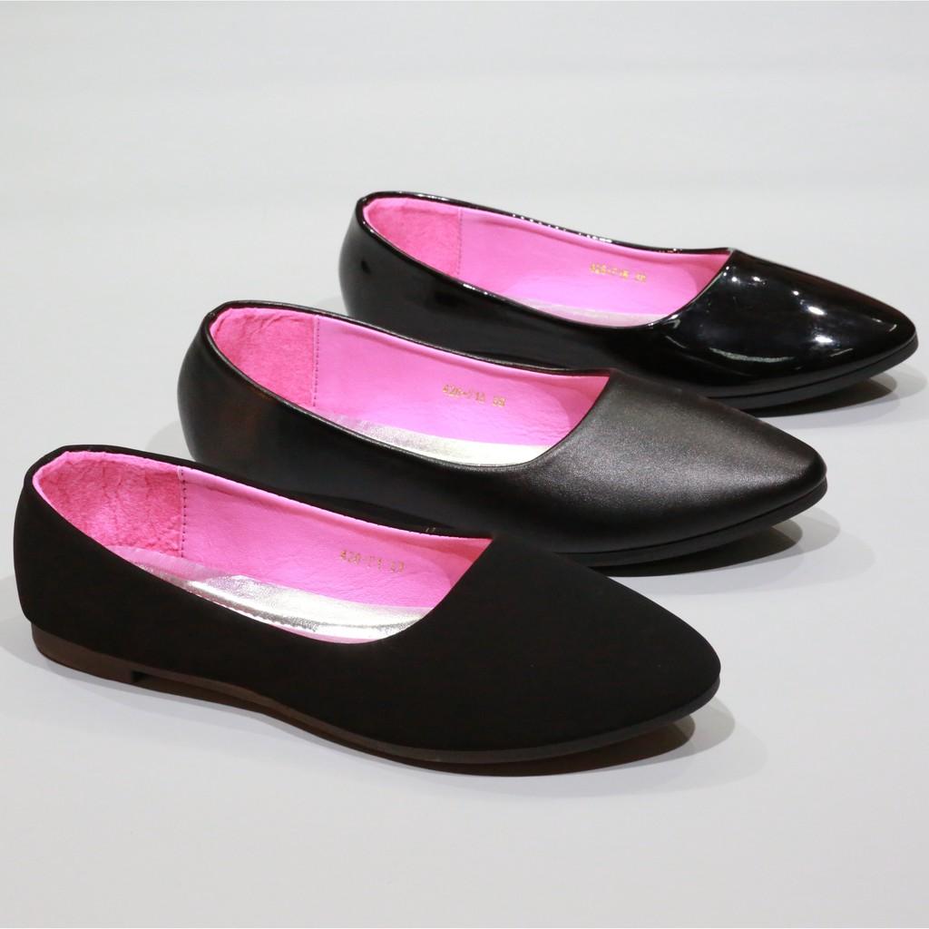 รองเท้า 426/f1,f1a,f1b รองเท้าคัชชูนักศึกษา รองเท้าคัชชูส้นแบน Fairy.