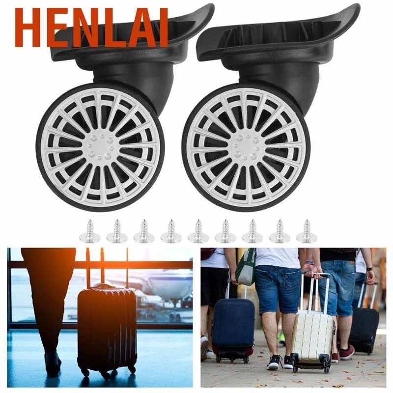 Henlai กระเป๋าเดินทางล้อลากเป็นมิตรต่อสิ่งแวดล้อม