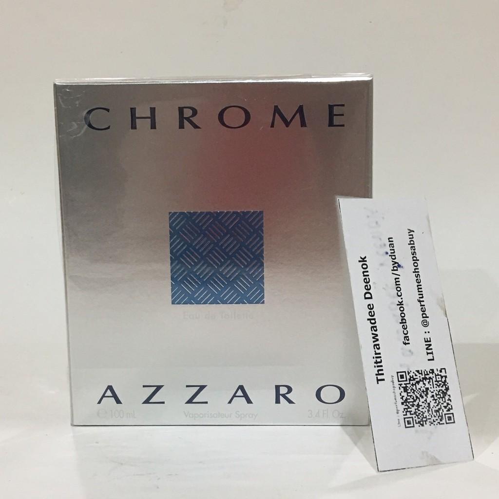 น้ำหอม Azzaro Chrome EDT 100 ml. กล่องซีล