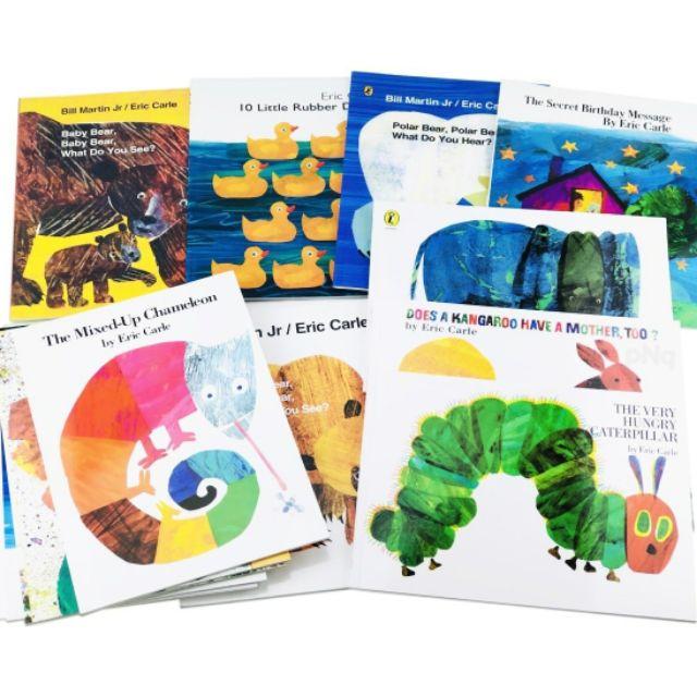 Eric Carle's Books Set (15 Books)