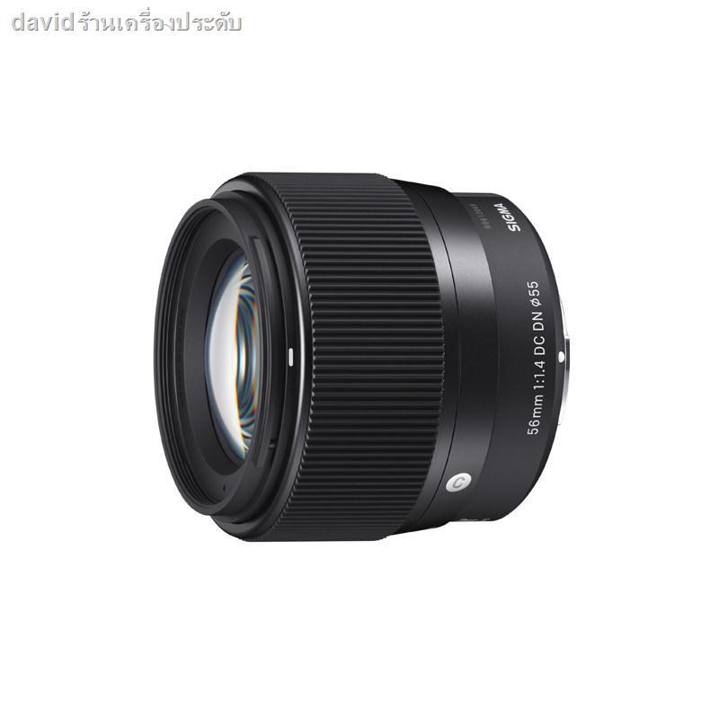 【ราคาต่ำสุด】❅✼♙Sigma / 56mm F1.4 DC DN รูรับแสงขนาดใหญ่เลนส์กล้อง Sony micro single portrait โฟกัสคงที่ E เมาท์