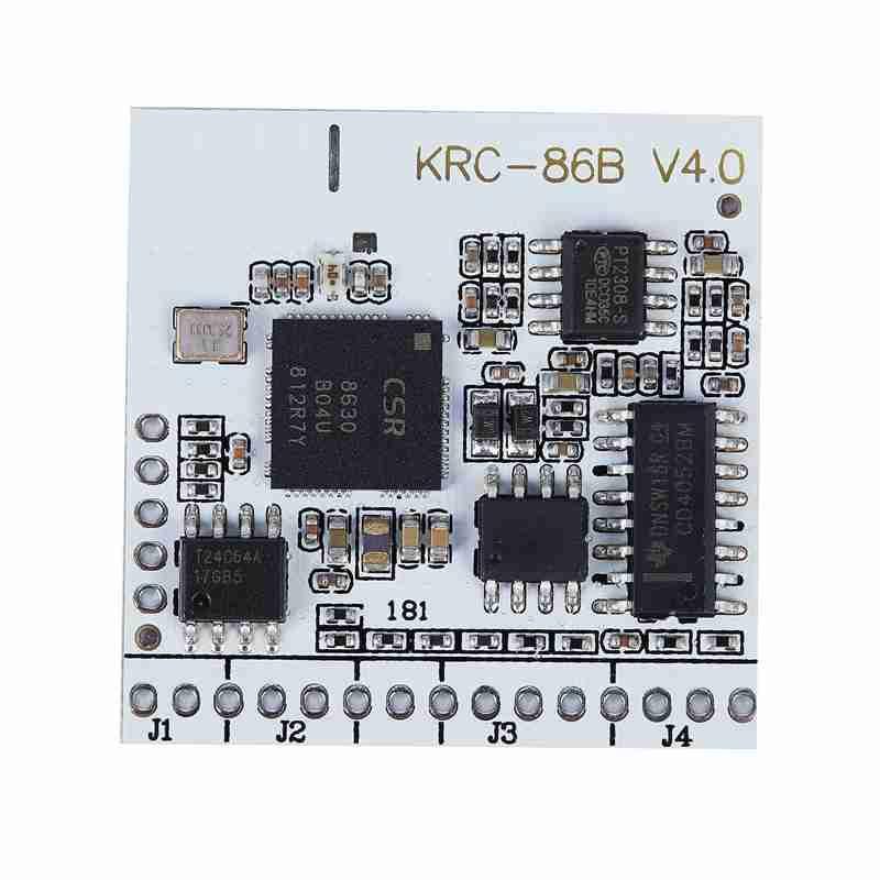 KRC-86B Bluetooth 4.0 EDR Stereo Audio Receiver Module Board DIY 2.0 interface