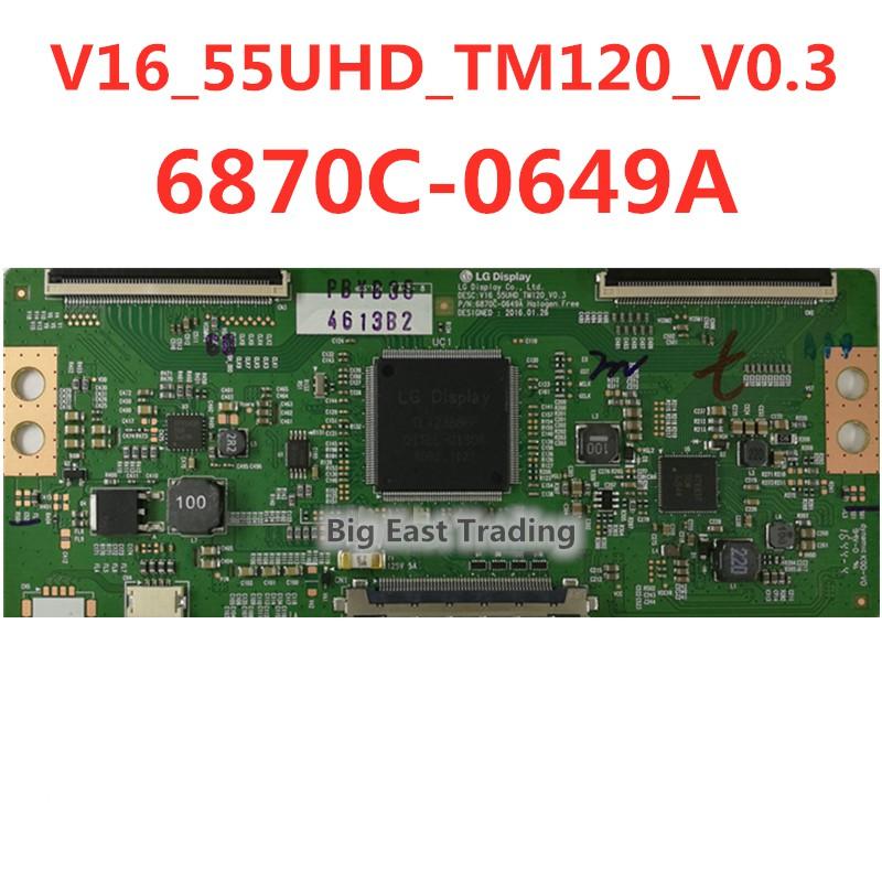 บอร์ดควบคุม Tcon Board 6870 C - 0649 A 1 ชิ้น