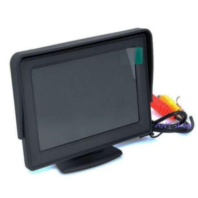 จอมอนิเตอร์4.3 นิ้ว ตั้งติดคอนโซลหรือกระจก ต่อกล้องมองหลัง หรือ ดูทีวีดิจิตอล