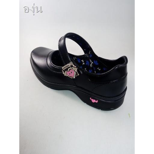 🌷สินค้าคุณภาพดีราคาถูก🌷┇POPTEEN รองเท้านักเรียน รองเท้านักเรียนสีดำเด็กผู้หญิงรองเท้าเด็กผู้หญิงรองเท้าคัชชูเด็กผู้ห