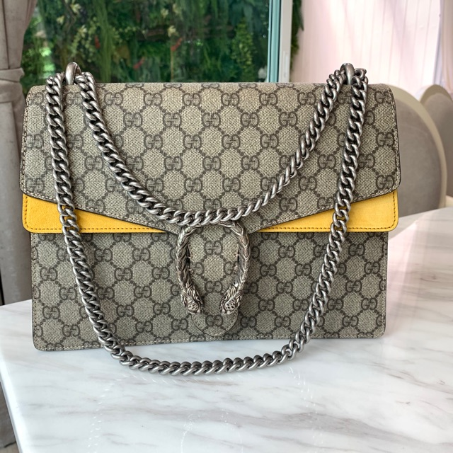 Gucci dionysus L yellow