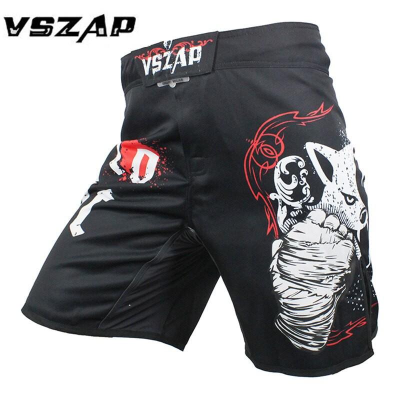 MMA Grappling Shorts UFC Mix Cage Fight Kick Boxing Fighter Short M-L-XL-XXL