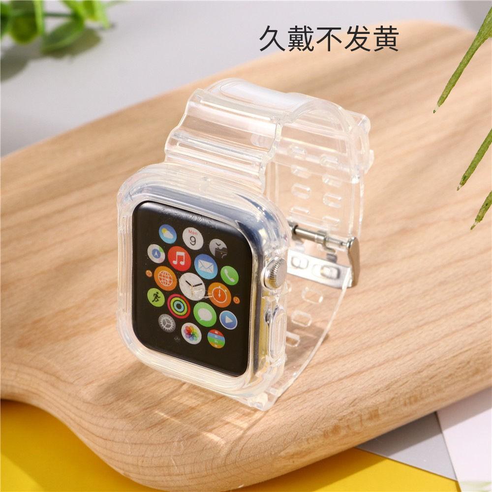 สายนาฬิกาข้อมือแบบใสสําหรับ Applewatch1/2/345se6