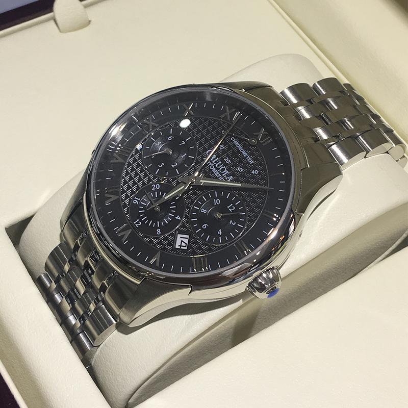 ✡✺สายนาฬิกา applewatchสายนาฬิกา gshockแคโรไลน์นาฬิกาจักรกลอัตโนมัติสิบนาฬิกาผู้ชายเข็มขัดเหล็กนาฬิกาผู้ชายนาฬิกากันน้ำกี