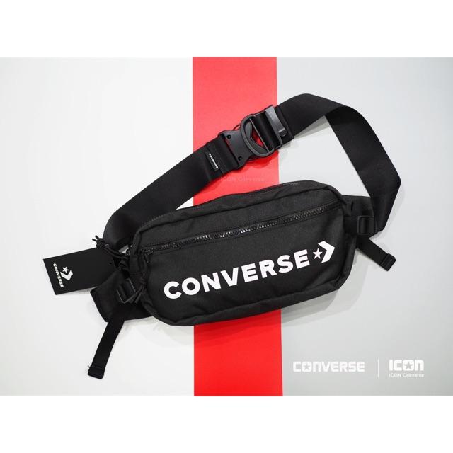 6321abeb9285 Converse Mesh Look Waist Bag  ของแท้  ฟรีถุงShop