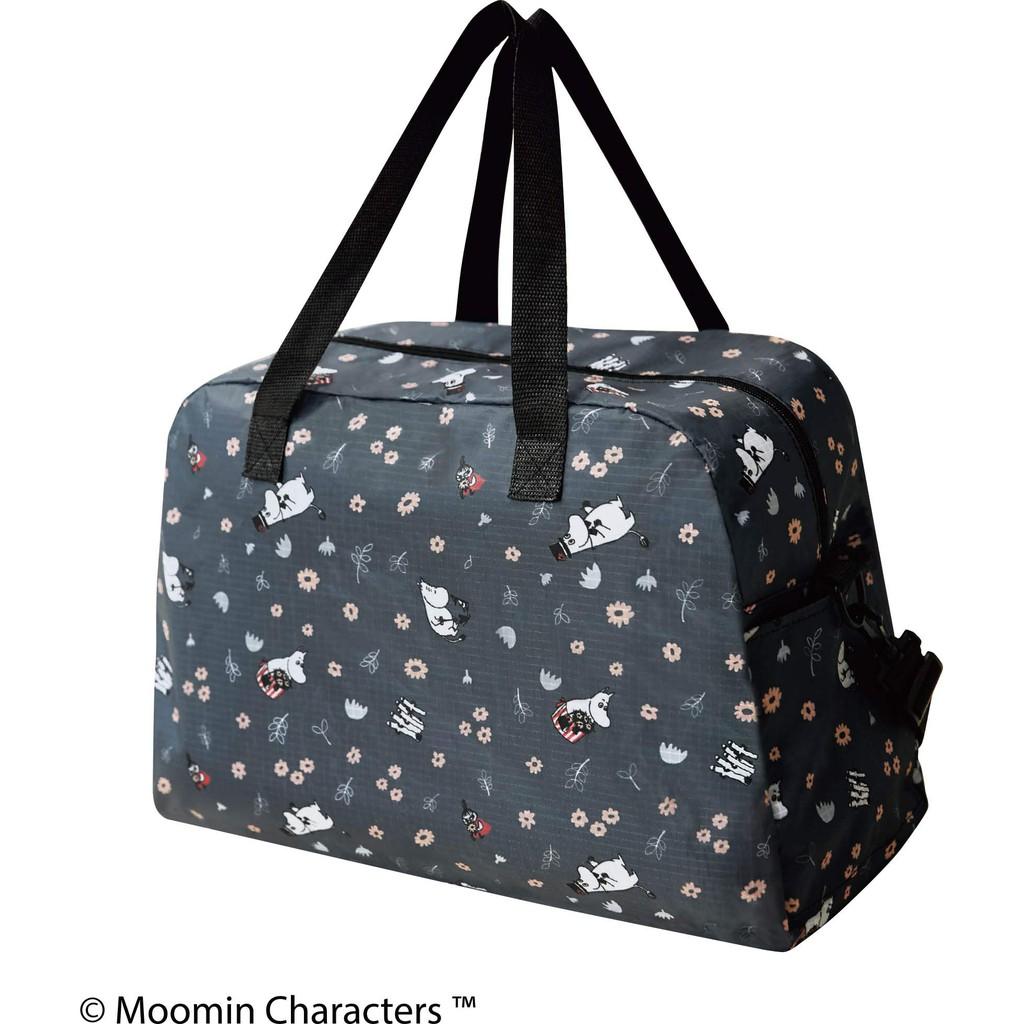 กระเป๋าเดินทาง ใส่เสื้อผ้า ใส่ของ ลายมูมิน พร้อมกระเป๋าสะพายข้าง นำเข้าจากญี่ปุ่น Moomin 2 way bag Kokoro Japan
