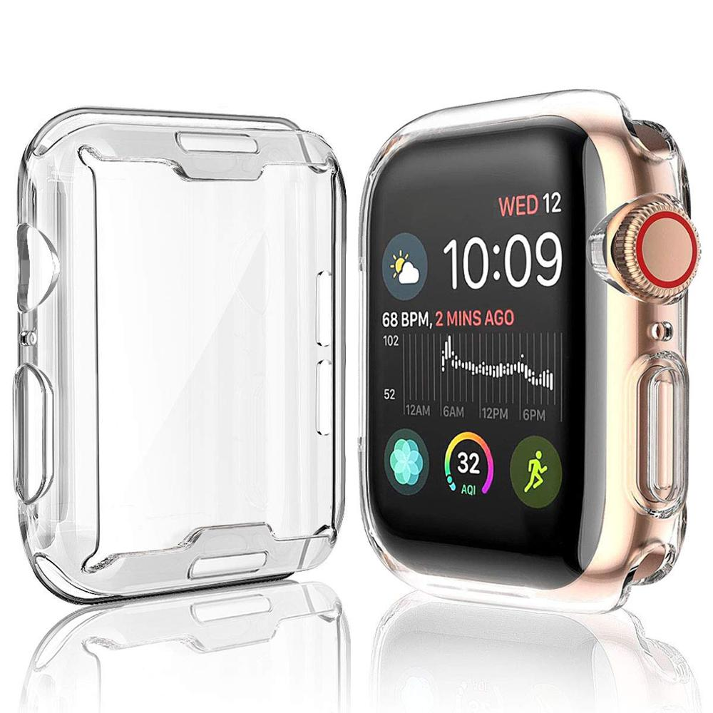 เคสนาฬิกาข้อมือ Apple Watch 40 / 44 มม . Tpu สําหรับ Iwatch Series 5 / 4