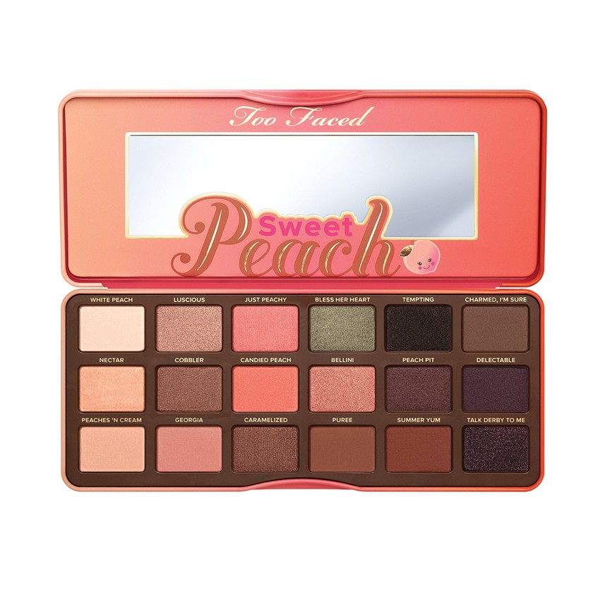 Too Faced Sweet Peach Eye Shadow Palette #Sweet Peach (1 ตลับ)