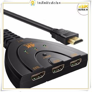 4 Kx 2 K 3 D Mini 3 Port HDMI Switch 1.4 b Switcher HDMI Splitter 1080 P 3 In 1 Out Por