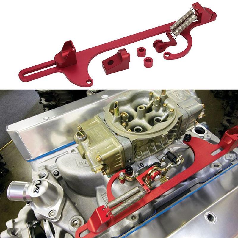 NEW Holley Aluminum Throttle Cable Carb Bracket Carburetor 350 4150 4160