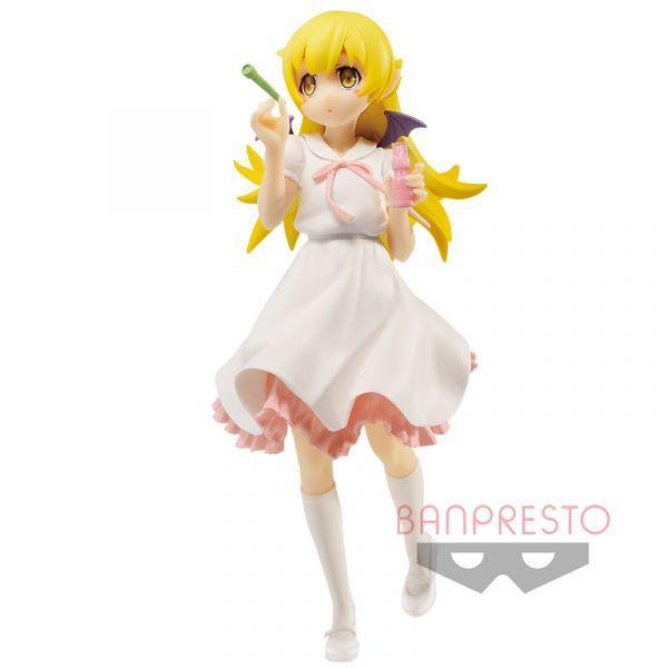 BANDAI Shinobu Oshino Ishin Nishino Anime Project EXQ Figure by Banpresto