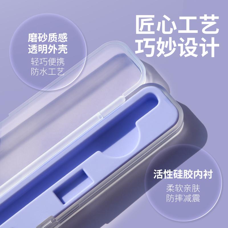 ♖⚡Applepencil เคสป้องกันกล่องปากกา pencil อุปกรณ์เสริมสำหรับรุ่น iPad 2หัวปากกา1ชุดปากกา ipencil แอปเปิ้ลสติกเกอร์รุ่นที