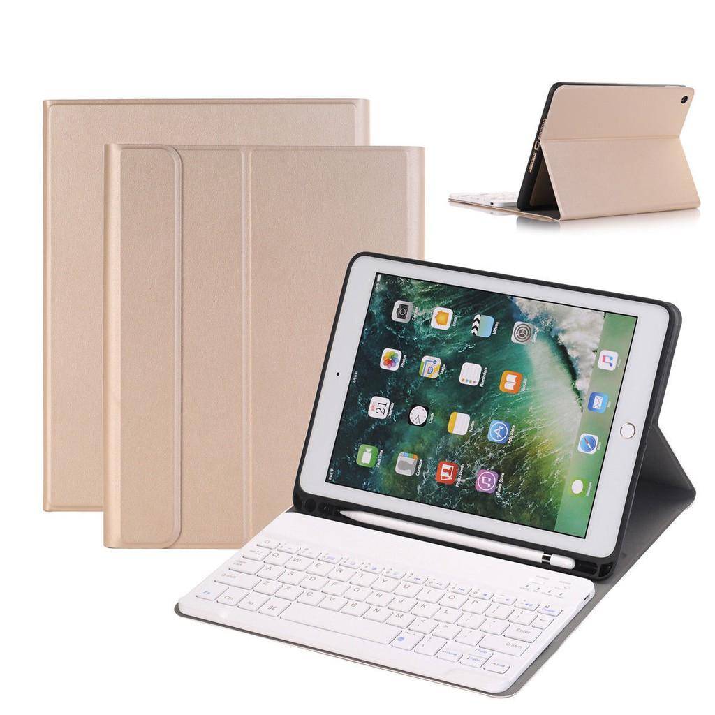 ღღFor Apple iPad Air 2 Smart Bluetooth Keyboard+Flip Case Cover+Pencil Holder pyPZ