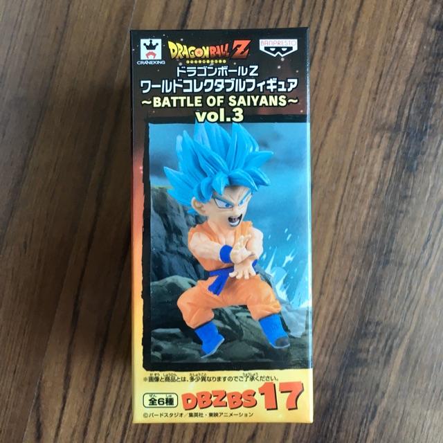 WCF Dragonball Z Battle of Saiyans Vol.3 Super Saiya God Blue ดราก้อนบอล ซูเปอร์ไซย่า ก็อด บลูโกคู