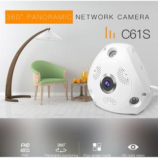 VStarcam C61S -มุมมองกว้าง 360องศาPanoramic IP Camera ชัด3 ล้าน