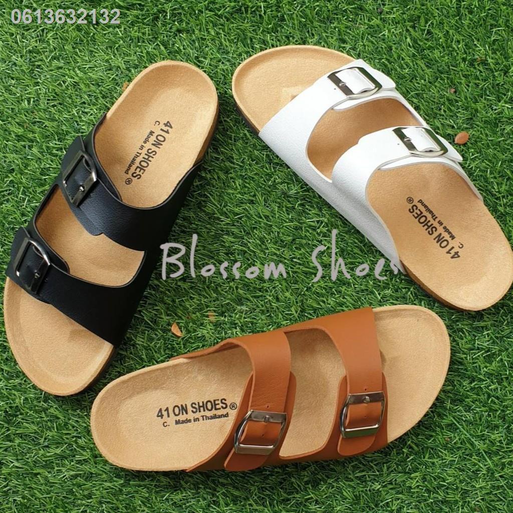 ۩♤ไซส์ใหญ่ 41-43 รองเท้าแตะ ฺBikenStock 1Step /2step  สายปรับระดับได้