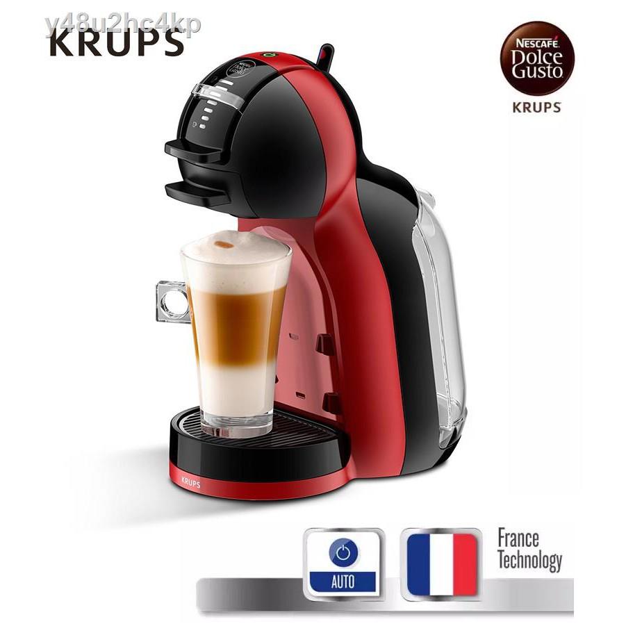 เครื่องทำกาแฟ✈₪☫KRUPS เครื่องชงกาแฟแคปซูล Mini me Nescafe Dulce Gusto รุ่น KP120866,KP120166,KP120H66