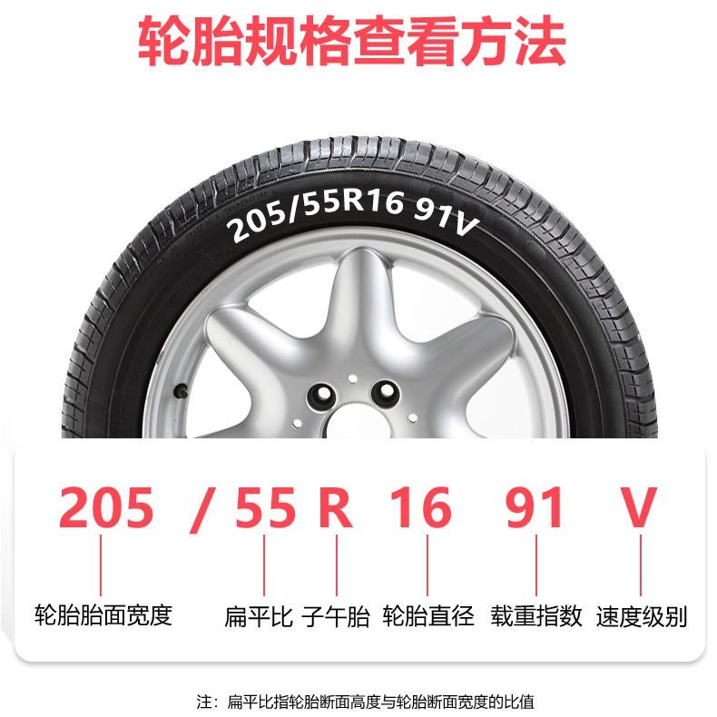 ﹊ยางรถยนต์ 215 ความหนาที่ทนต่อการสึกหรอ / 50/55/60/65/70/75 R15 R16 R17 ใหม่เอี่ยม