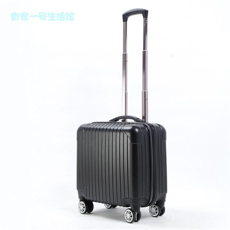 マごกระเป๋าเดินทางเด็กหญิง 16 นิ้วกระเป๋าเดินทางขนาดเล็กน่ารัก 18 รถเข็นมินิกระเป๋าเดินทางกระเป๋าเดินทางขนาดเล็ก 14 แสง 20