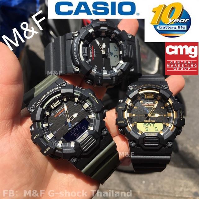 นาฬิกาCASIO(รุ่นใหม่)รุ่นHDC-700 แบตเตอรี่ 10 ปี สินค้าของแท้ รับประกันศูนย์เซ็นทรัลCMG 1ปีค่ะ