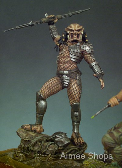 Unpainted Kit 1/32 54mm  fantasy warrior with base  figure Historical  Resin Figure miniature garage kit iazp