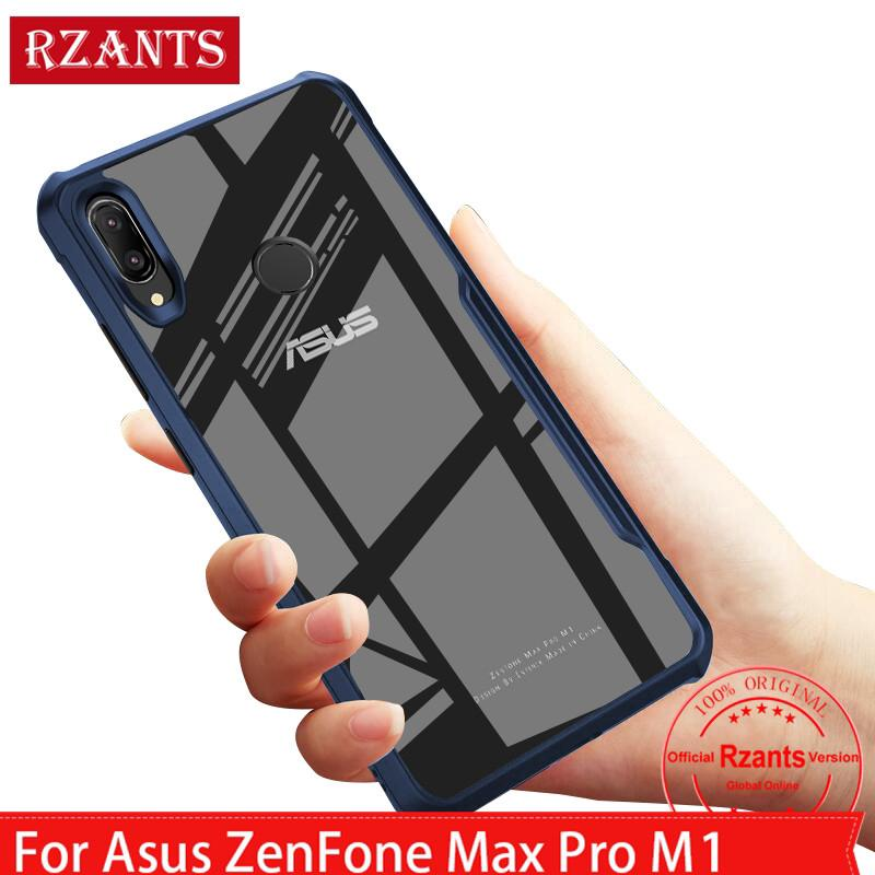 Review Asus ZenFone Max Pro M1 เคส  Case เคสโทรศัพท์【Anti-falling Corner】Clear Back Slim Thin Full เคสมือถือ Cover