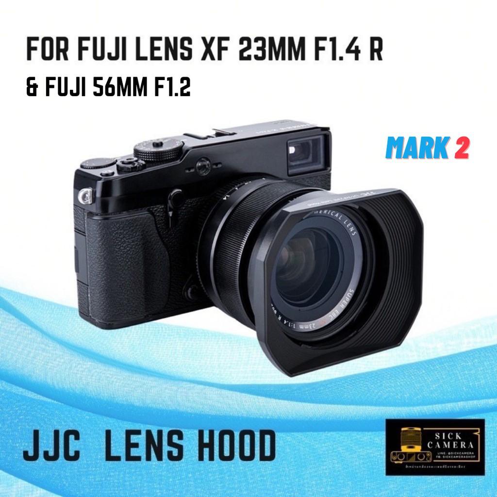 ✔﹊Lens Hood for Fujion 23mm f1.4 and 56mm F1.2 ( ฮูดเลนส์สำหรับเลนส์ Fuji และ )