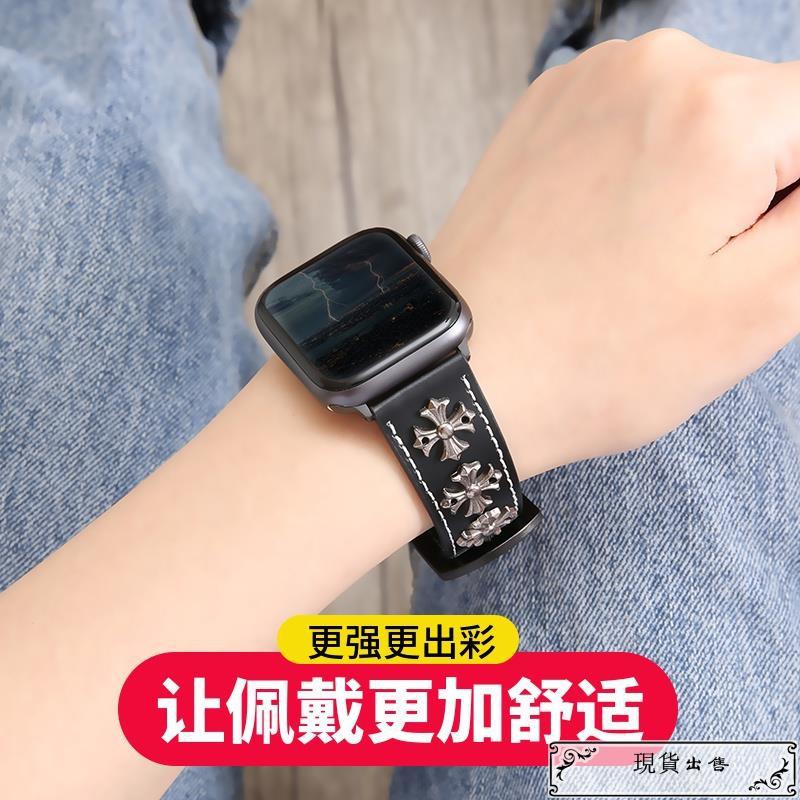 สายนาฬิกาข้อมือหนังสําหรับ Applewatch 6 Se / 6