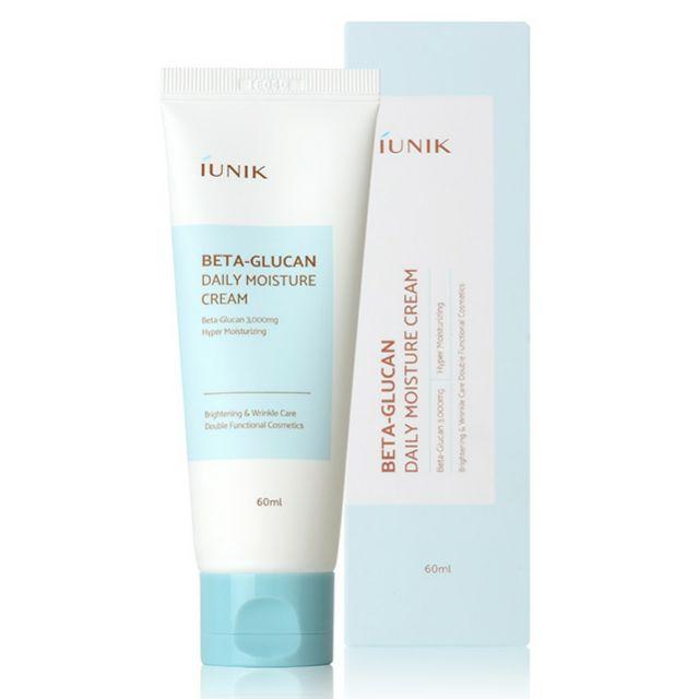 📦ส่งEMSฟรีถึง30พ.ย.63  SALE>> พร้อมส่ง/แท้ iUNIK beta glucan daily moisture cream 60 mL