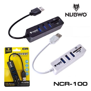 Review Nubwo NCR-100 USB Hub + Reader card
