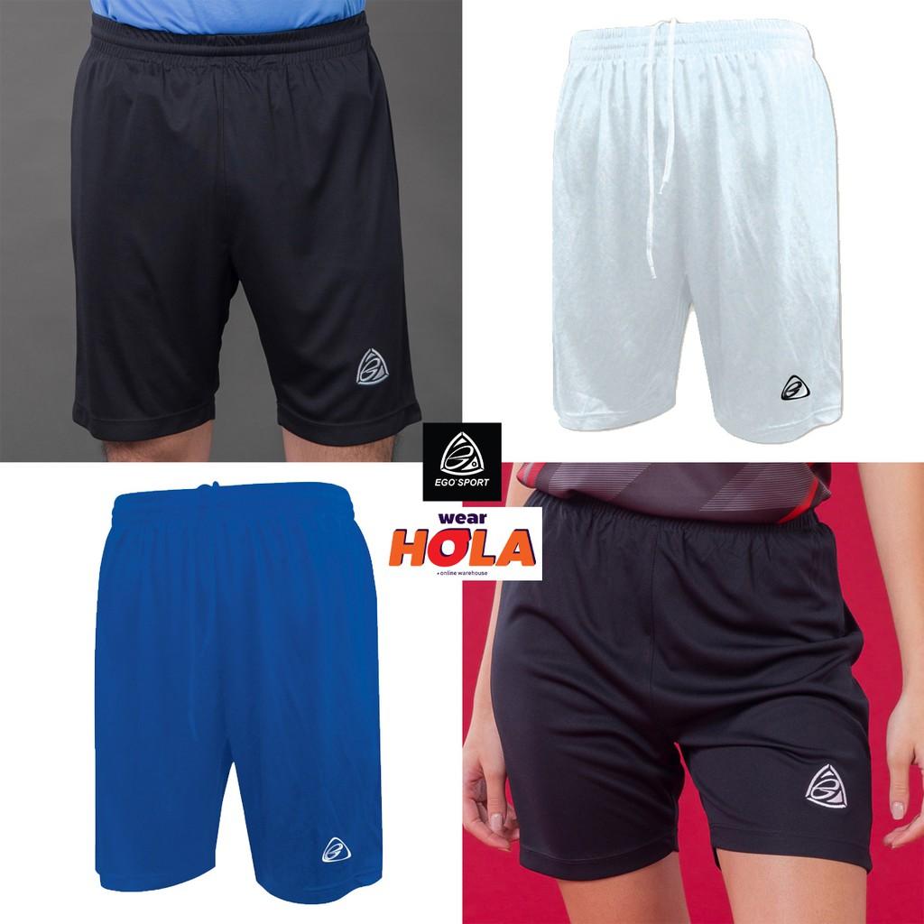 กางเกงกีฬา EGO Sport อีโก้ สปอร์ต กางเกงขาสั้น เอวยางยืด แบรนด์ไทย กางเกงออกกำลังกาย กางเกงฟุตบอล EG500