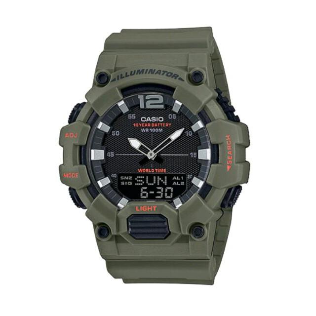นาฬิกาสปอร์ต    Original Casio Sports [2 ปีการรับประกัน] HDC-700-3A2V Men Youth Digital Analogy Sports