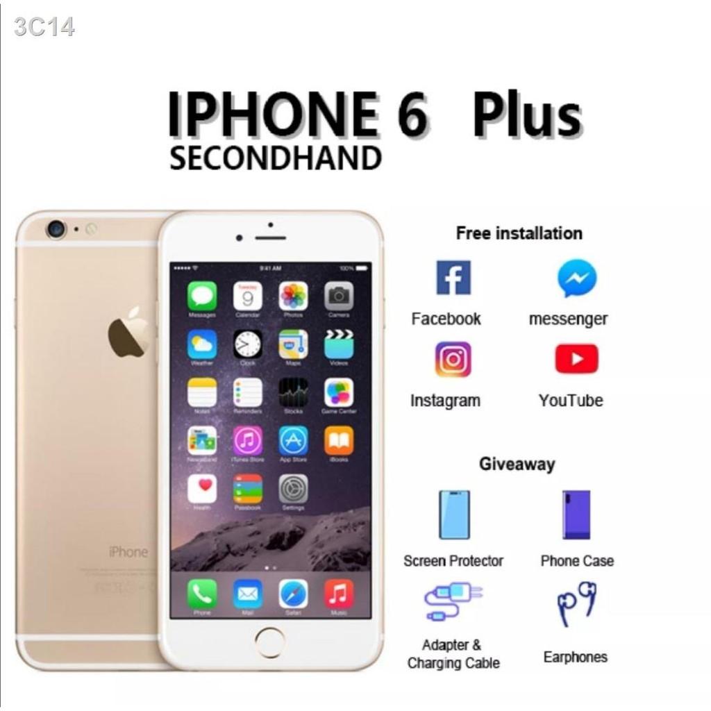 ลดราคา ผลิตภัณฑ์ยอดนิยม∈❣▨apple iPhone 6Plus ไอโฟน6พลัสIphone [16GB][32GB][64GB][128GB] เครื่องแท้ มีประกันไม่มีรอย ดูรู