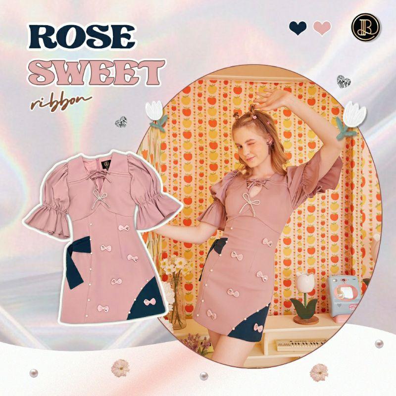 BLT DRESS ROSE SWEET
