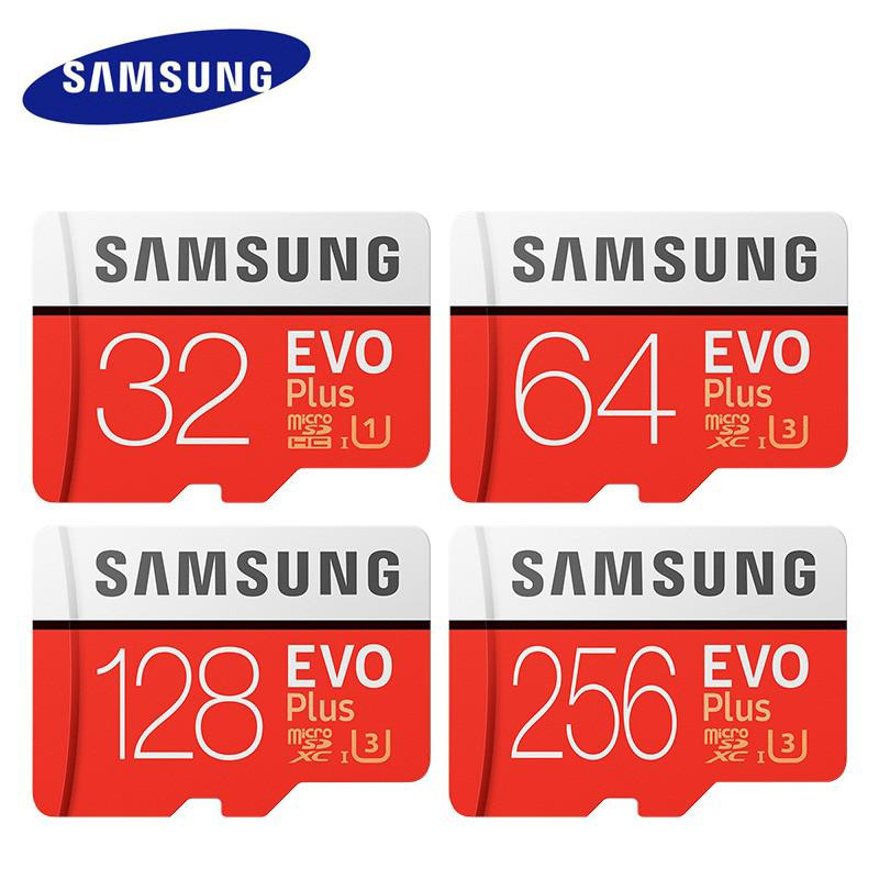SamSung Micro SD Card sdhc Memory Card Class 10 Mini SD Card SDXC 4k red TF card[สำหรับการจัดส่