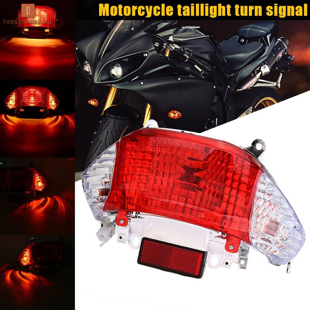 Stop /& Taillight Motorbike LED Integrated Indicators FRONT /& REAR with Driving Lights