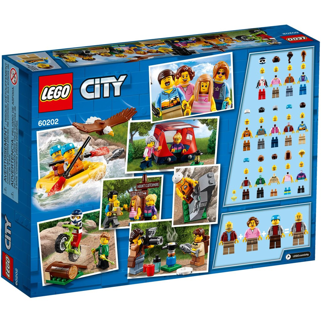 Outdoor City People Lego เลโก้ Pack Thailand AdventuresShopee 60202 80kZXwNPnO